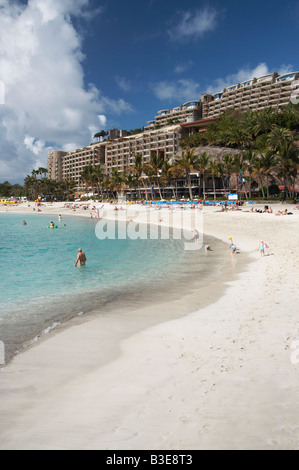 Anfi del Mar timeshare resort on Gran Canaria in the Canary islands. - Stock Photo