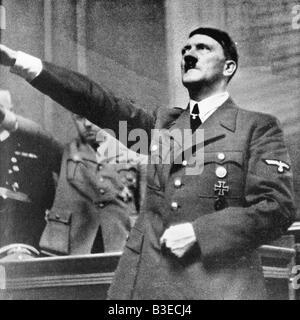 Hitler /Reichstag/War/1.9.1939. - Stock Photo