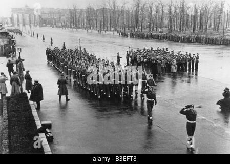 Parade in Berlin / Photo / 1945 - Stock Photo