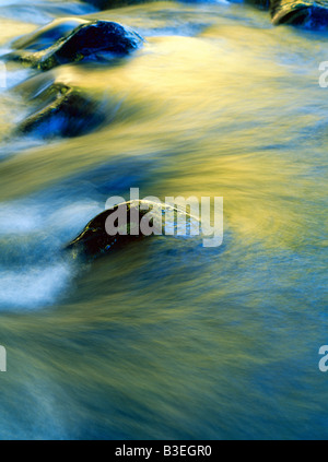 Water flowing - Stock Photo