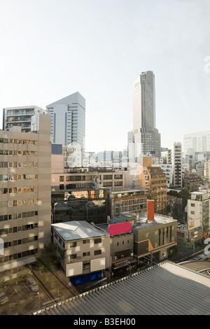 Tokyo buildings - Stock Photo