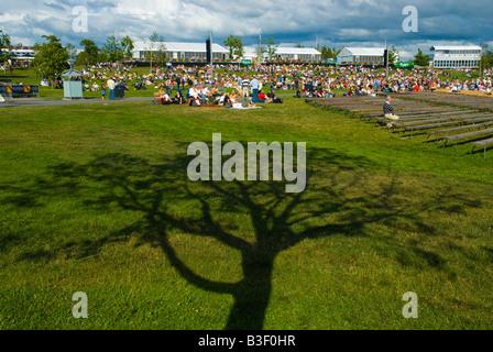 Kirjurinluoto Arena concert place at Pori Jazz festival Pori Finland Europe - Stock Photo