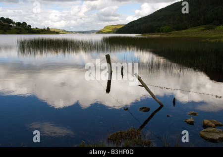 Lough Finn Fintown County Donegal Ireland Lough Finn is a most spectacular 3 miles long lake - Stock Photo