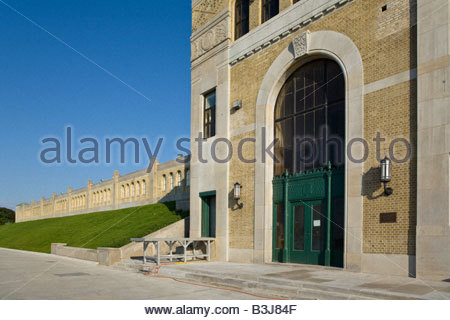 R C Harris water treatment plant in Art Deco style a national historic civil engineering site in Toronto Ontario - Stock Photo