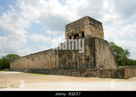Great Ballcourt, Juego Pelota, Chichen Itza, Yucatan Peninsular, Mexico - Stock Photo