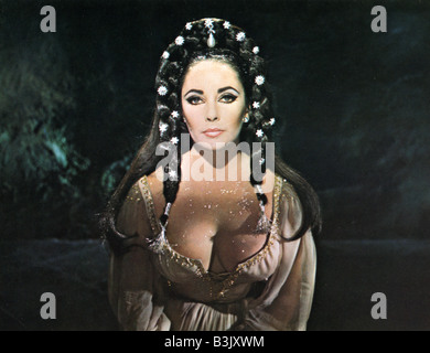DR FAUSTUS  1967 Columbia film with Elizabeth Taylor - Stock Photo