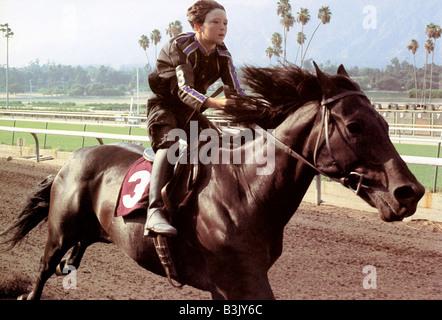 THE BLACK STALLION 1980 UA film with Kelly Reno - Stock Photo