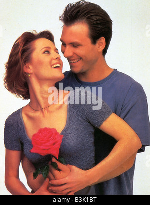 BED OF ROSES  1995 Entertainment film with Christian Slater and Mary Stuart Masterson - Stock Photo