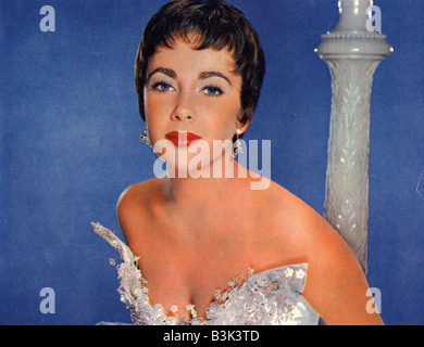 THE LAST TIME I SAW PARIS 1954 MGM film with Elizabeth Taylor - Stock Photo