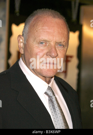 ANTHONY HOPKINS UK actor in November 2007 - Stock Photo