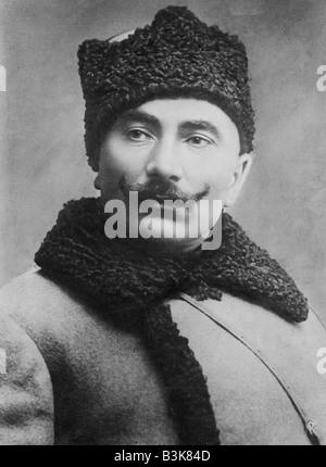 SEMYON MIKHAILOVICH BUDENNY  Soviet military commander 1883 to 1973 here in 1927 - Stock Photo
