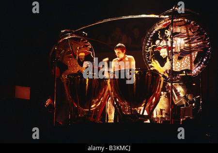EMERSON LAKE AND PALMER  UK rock group with Carl Palmer - Stock Photo