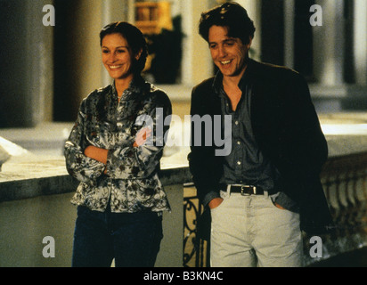 NOTTING HILL 1999 Polygram/Working Title film with Julia Roberts and Hugh Grant - Stock Photo