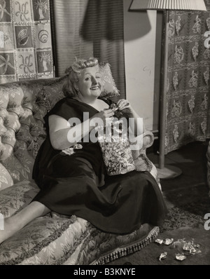 TESSIE O'SHEA  Welsh entertainer and actress 1913 to 1995 - Stock Photo