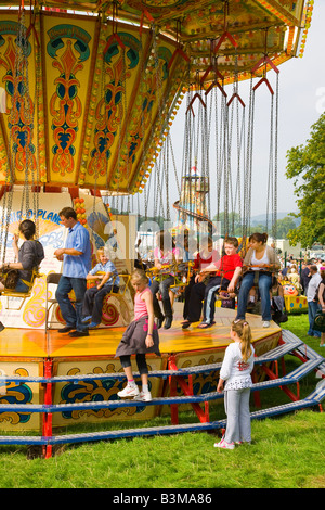 Chatsworth Country Fair Derbyshire - Stock Photo