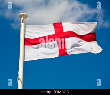 English Flag - Stock Photo