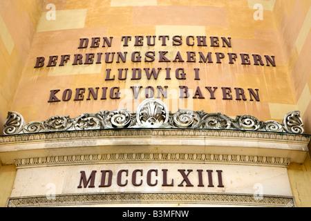 Deutschland, Bayern, Befreiungshalle bei Kehlheim, Germany, Bavaria, Hall of Liberation at Kehlheim - Stock Photo