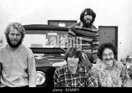 CREEDENCE CLEARWATER REVIVAL  US pop group in 1970 - Stock Photo