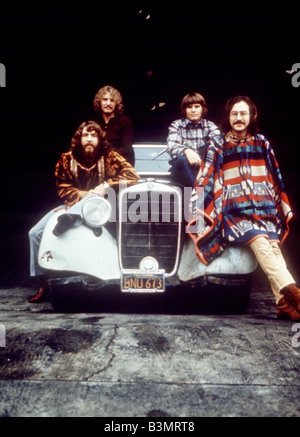 CREEDENCE CLEARWATER REVIVAL  US pop group about 1971 - Stock Photo