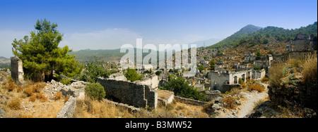 Kayakoy Turkey - Stock Photo