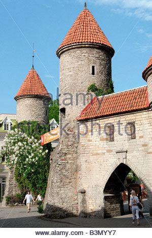 City wall / Tallinn - Stock Photo