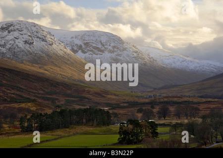 Glen Lyon, Perth and Kinross, Scotland - Stock Photo