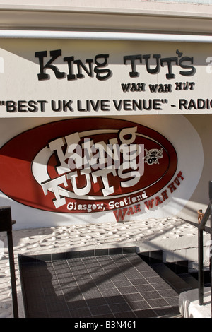 King Tuts Wah Wah Hut Glasgow Scotland - Stock Photo