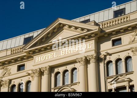 Hotel Bristol Warsaw - Stock Photo