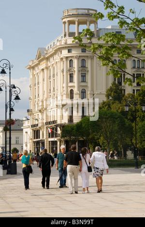 Hotel Bristol Krakowskie Prezmiescie Warsaw - Stock Photo