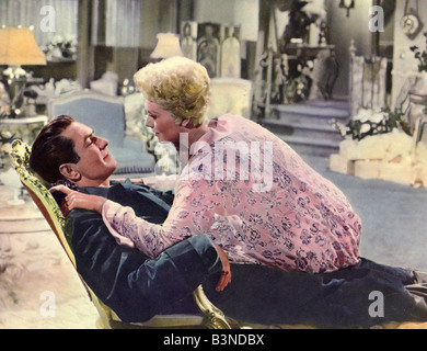 THE EDDY DUCHIN STORY 1956 Columbia film with Tyrone Power and Kim Novak - Stock Photo