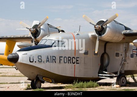 Grumman Albatross SA 16A Rescue Plane PIMA Tucson 1949 1978 at PIMA Air and Space Museum Tucson - Stock Photo