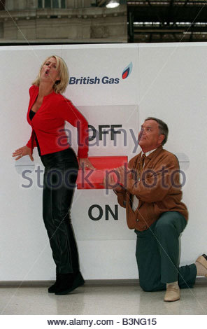 Bob Monkhouse Comedian TV Presenter with the Knickette ...