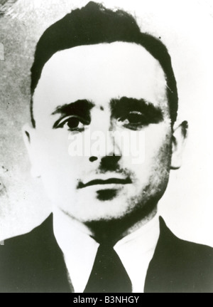 KLAUS BARBIE Nazi war criminal who headed operations against the French resistance in World War Two - Stock Photo