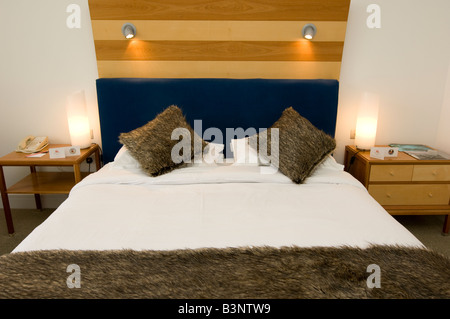King Size Double Bed At The The St Davids Hotel Five Star Cardiff Bay Wales  UK Part 86