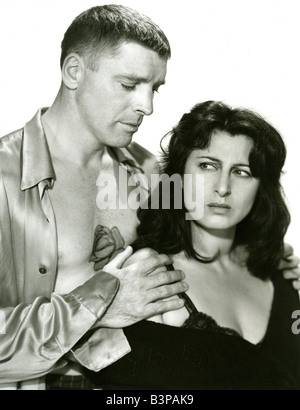 THE ROSE TATTOO  1955 Paramount film with Burt Lancaster and Anna Magnani - Stock Photo