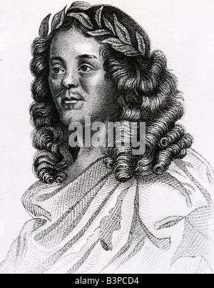 WILLIAM D'AVENANT English poet and playwright 1606-1668 rumoured to be Shakepeare's illigitimate son Stock Photo