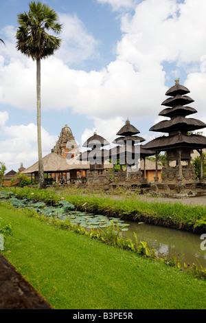Pura Taman Ayun Temple in Mengwi, Bali, Indonesia - Stock Photo