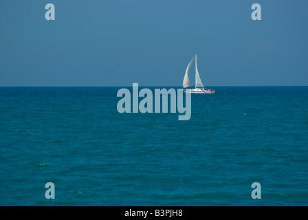 Sailor on the sea - Stock Photo