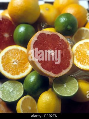Oranges lemons limes and grapefruit Richard B Levine - Stock Photo