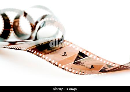 strip of 35mm film - Stock Photo
