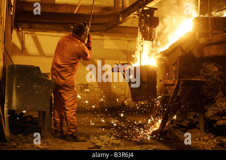 Chamberlin Hill Castings Ltd in Walsall West Midlands UK - Stock Photo