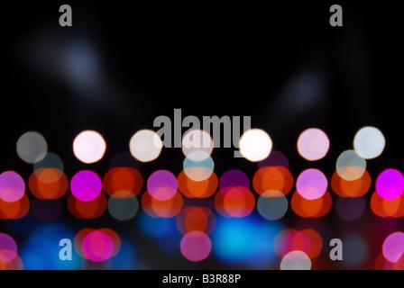 glowing light background Stock Photo