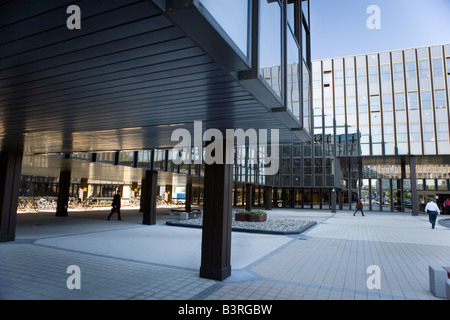 Luxembourg Kirchberg Europe quarter European commission - Stock Photo