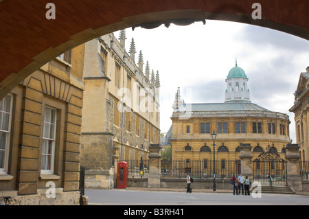 Sheldonian theatre, university of Oxford, England. - Stock Photo