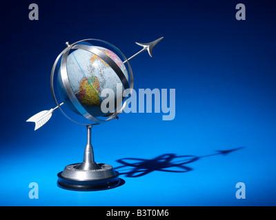 Armillary Spheres Globe horizontal - Stock Photo
