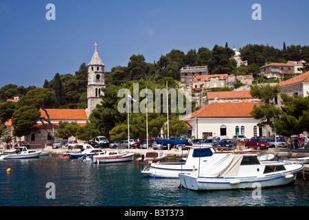 Cavtat Zupa Bay near Dubrovnik Croatia - Stock Photo