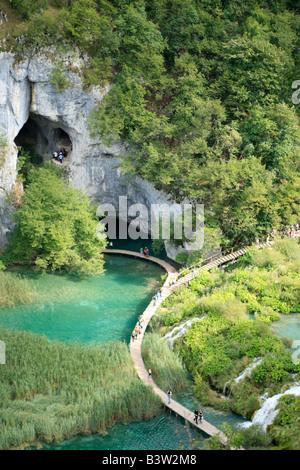 National Park Plitwitz Lakes, Republic of Croatia, Eastern Europe - Stock Photo