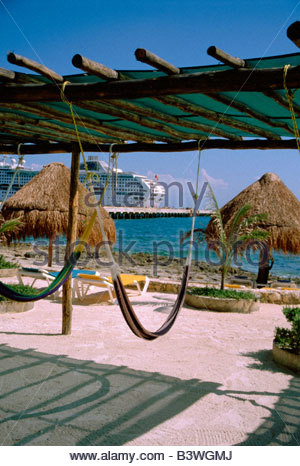 The Cruise Ship Port Of Costa Maya In Quintana Roo Mexico