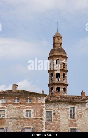 Tower, Cahors, 46, Lot, Midi Pyrenees, South West, France, Europe - Stock Photo