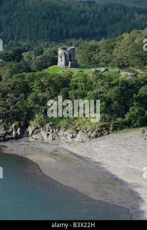 Dolbadarn castle Llanberis Wales - Stock Photo